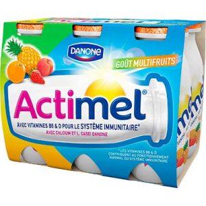 ACTIMEL SAV MULTIFRUIT X6