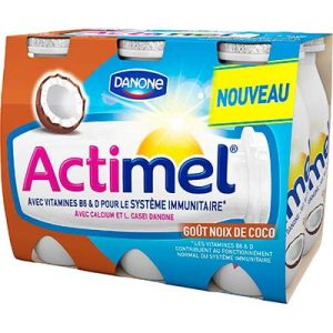 ACTIMEL SAVEUR COCO 6X100
