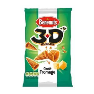 BENENUTS 3D'S FROMAGE 35G