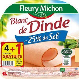 BLANC DINDE-SEL 4TR160 FM