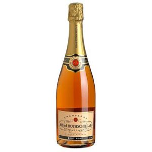 CHAMP.ROSE 75CL ROTHSCHIL