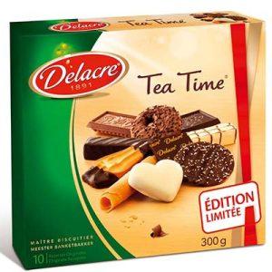 BTE TEA TIME 300G DELACRE