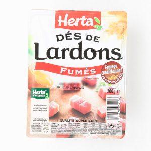 LARDONS FUMES.204G HERTA.