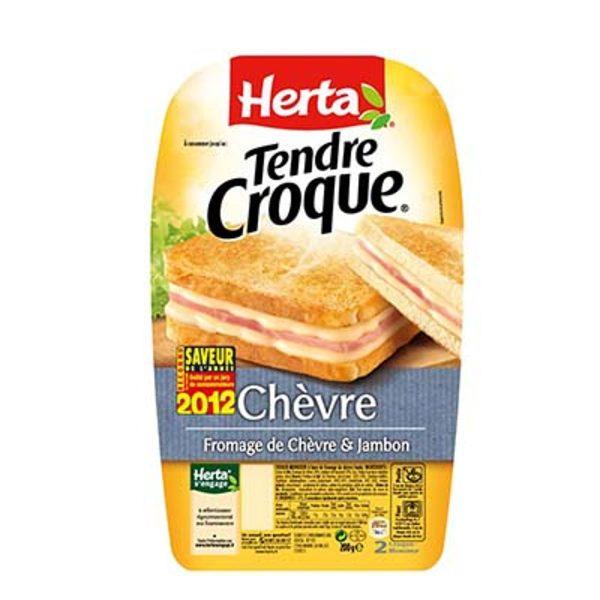 CROQ.MONSIEUR CHEVRE X2