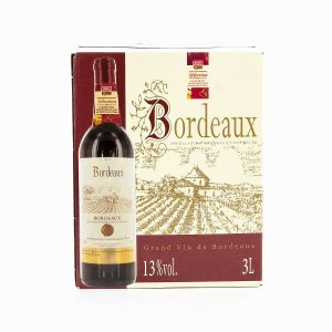 BAG IN BOX BORDEAUX 3L BF