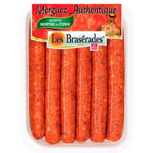MERGUEZ AUTHENT.X6 BRASER