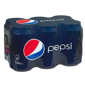 BTE. 6X33CL PEPSI REGULAR