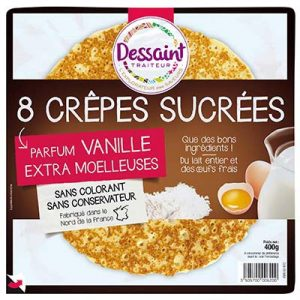 CREP.SUCREES X8.DESSAINT