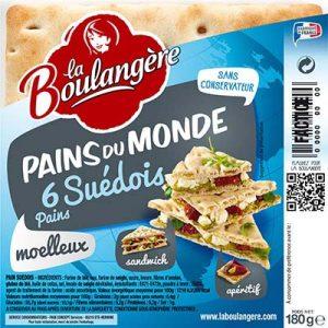 PAIN SUEDOIS X6 LA BOULAN