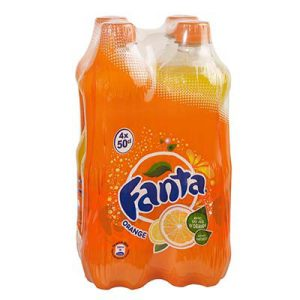 PET 4X50CL FANTA ORANGE