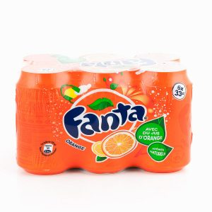 BTE 6X33CL FANTA ORANGE