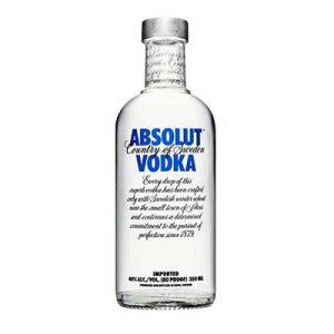 1/2B.35CL VODKA ABSOLUT