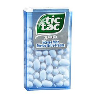 ET.X100TIC TAC MENT.EXT.F