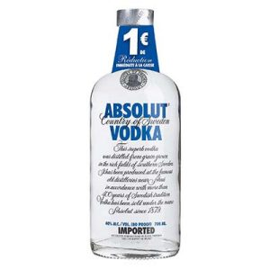 VODKA ABSOLUT 70CL 40°