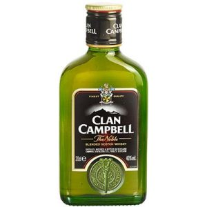 FLASK WHISKY CLAN CAMPBEL