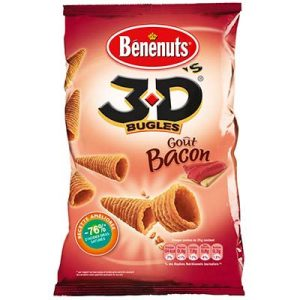 3D'S BACON 85G.BENENUTS