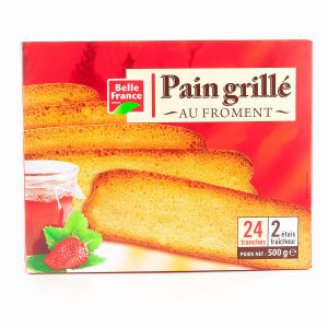 PAIN GRILLE 24TR. 500G.BF
