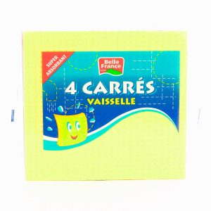X4 CARRES VAISSELLE BF