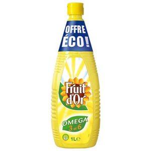 HUILE FRUIT D'OR 1 LITRE.