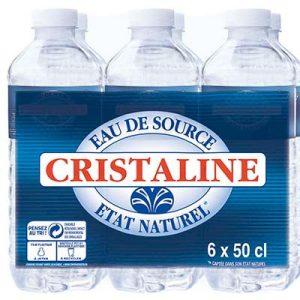 EAU CRISTALINE 6X50CL *
