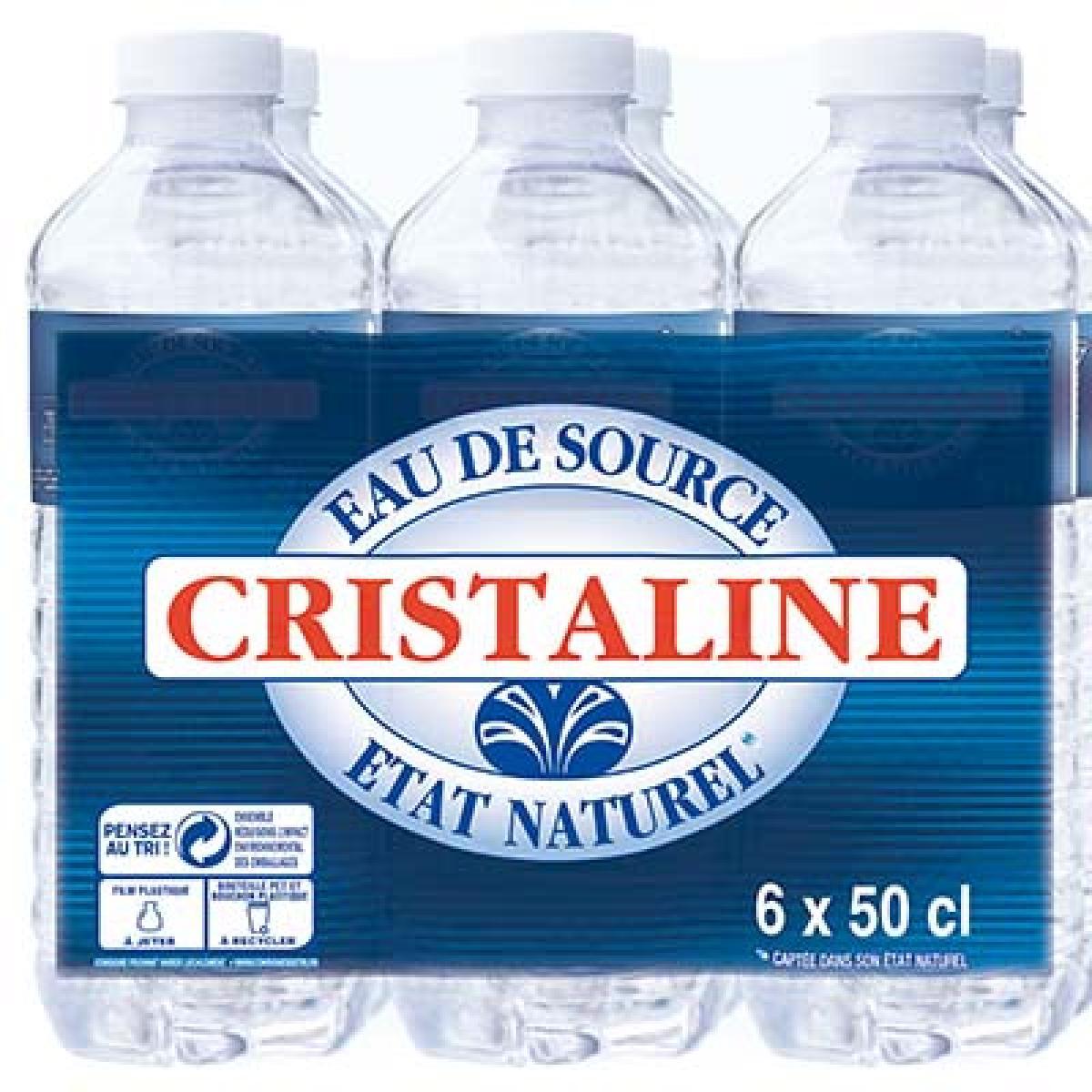Eau Cristaline 6x50cl Boutique Cabf