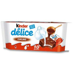 PAC10 KINDER DELICE*CACAO