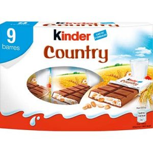 PACK 9 KINDER COUNTRY