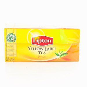 THE 25 SACH.LIPTON YELLOW
