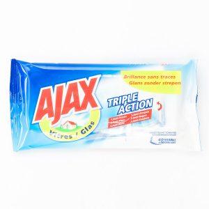 AJAX LINGETTE VITRE X40